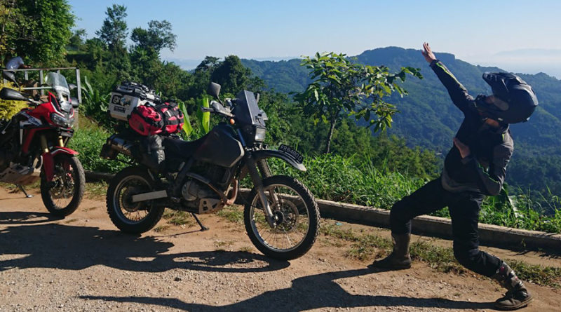 Thailand Motorcycle adventure DR650