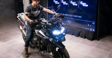 Triumph Tiger Motorcycle launch