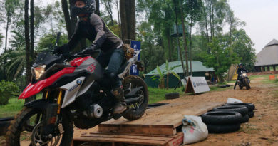 BMW G310GS motorcycle offroad
