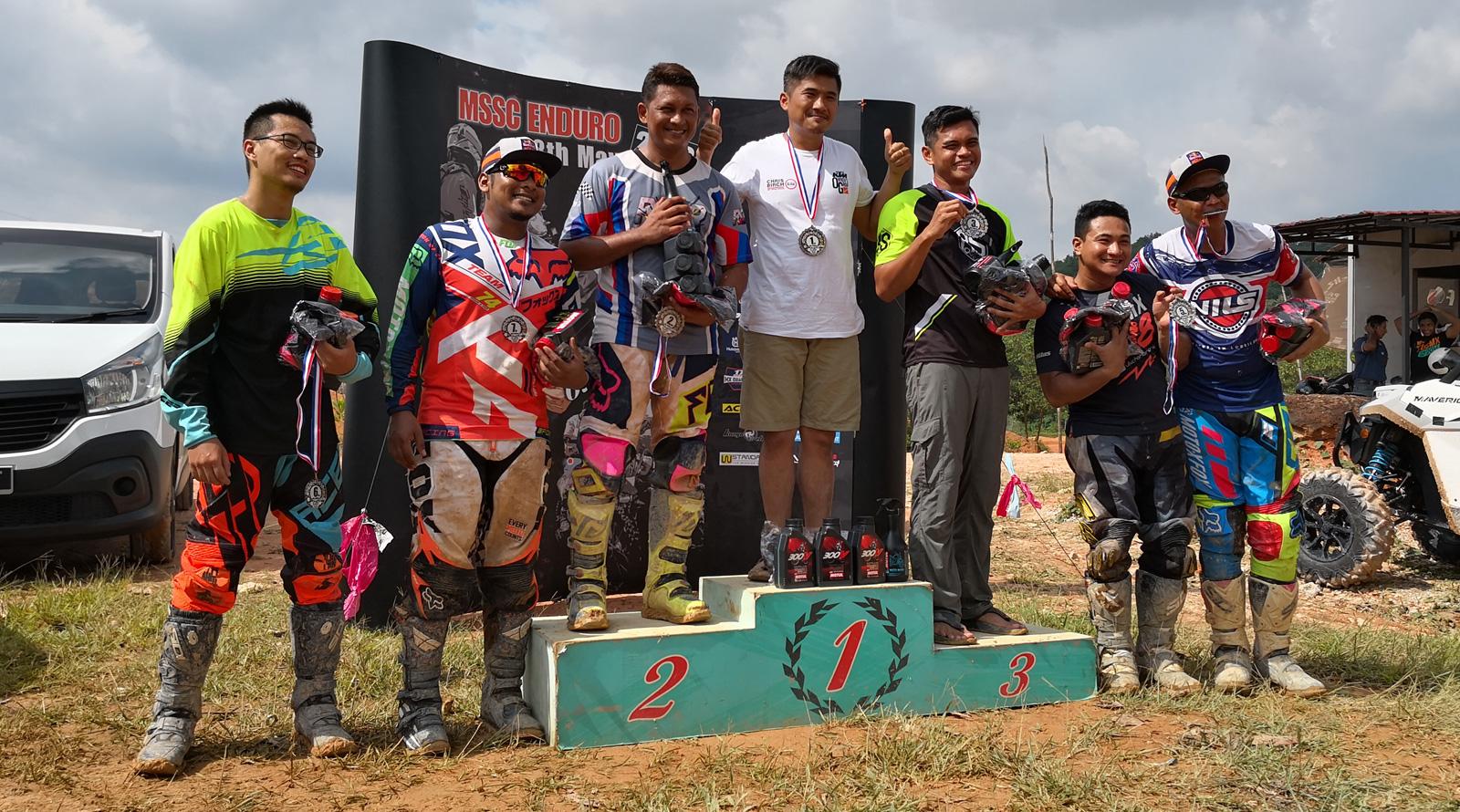 MSSC Enduro Race 2018 Big Trailies class
