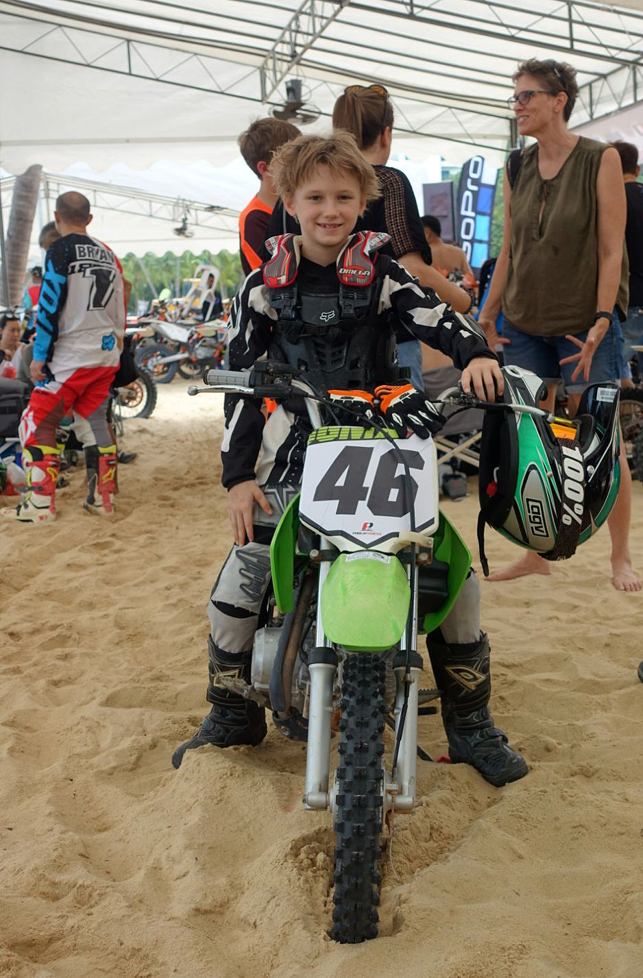 Sentosa MX Beach Race motocross