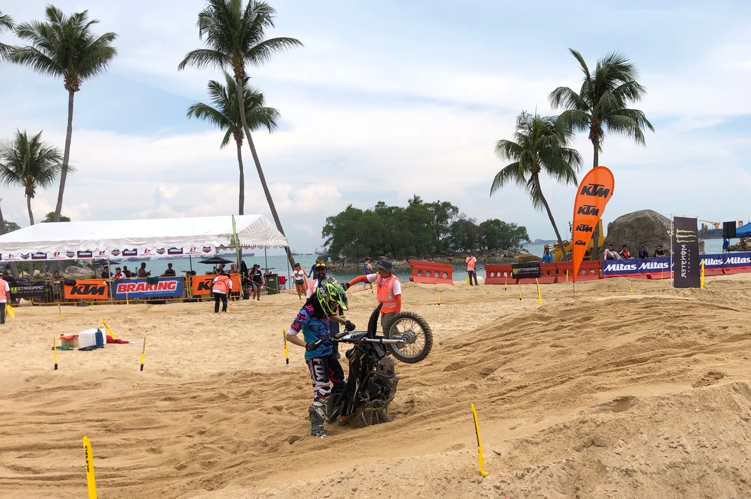Singapore MX Beach Race 2018