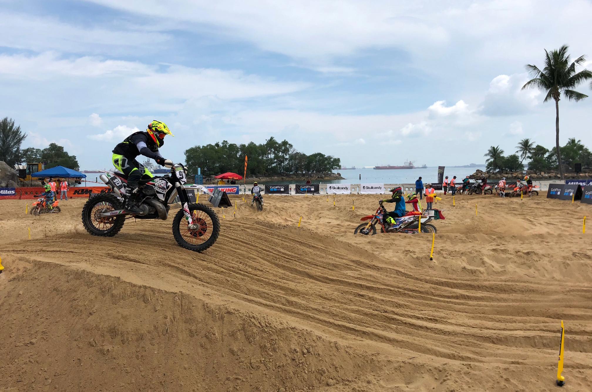 Singapore MX Beach Race 2018