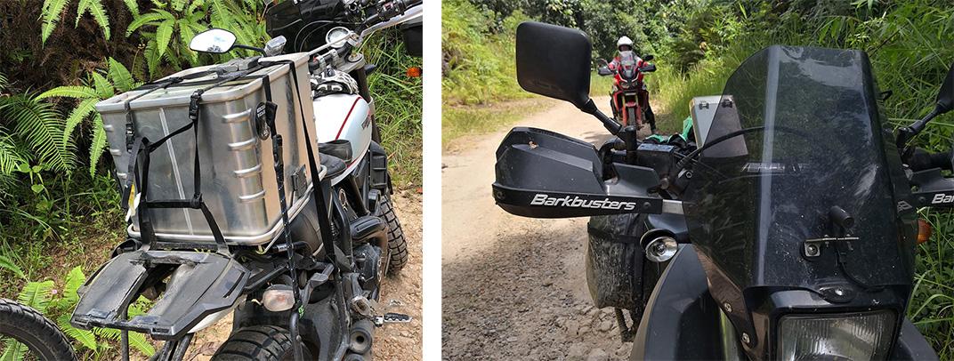 DR650 Ducati Scrambler Desert Sled