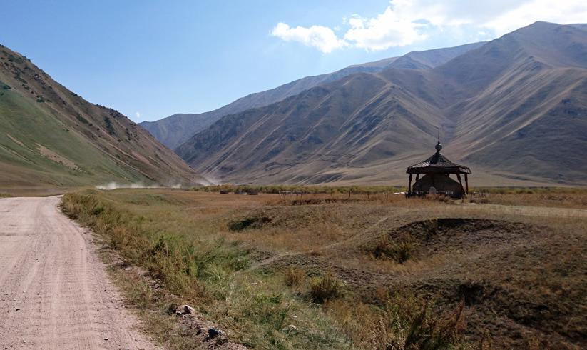 Kyrgyzstan temple