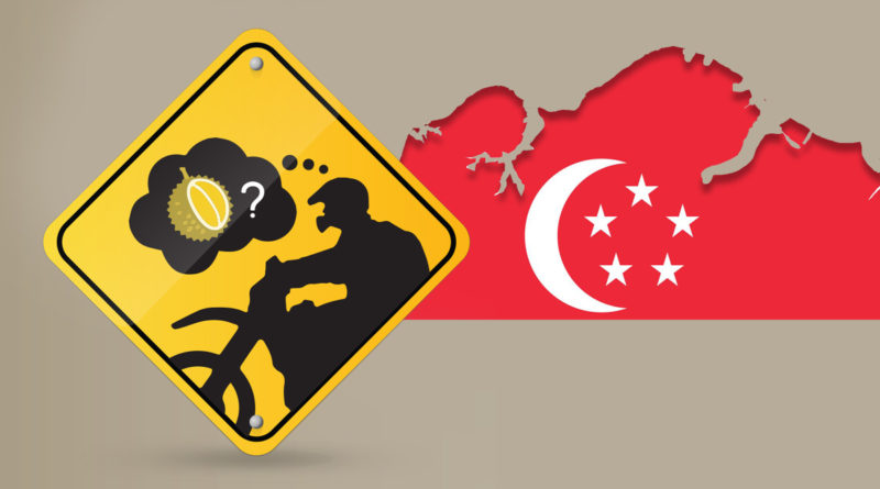 Foreign Motorcycles Entering Singapore