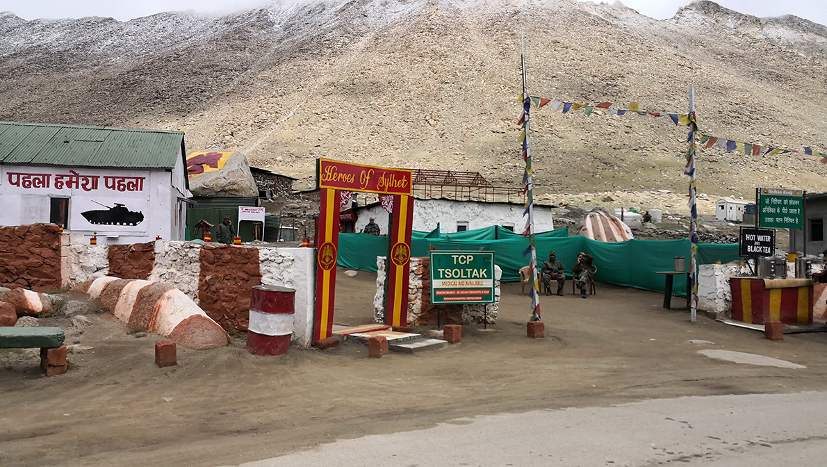 Ladakh adventure motorcycling