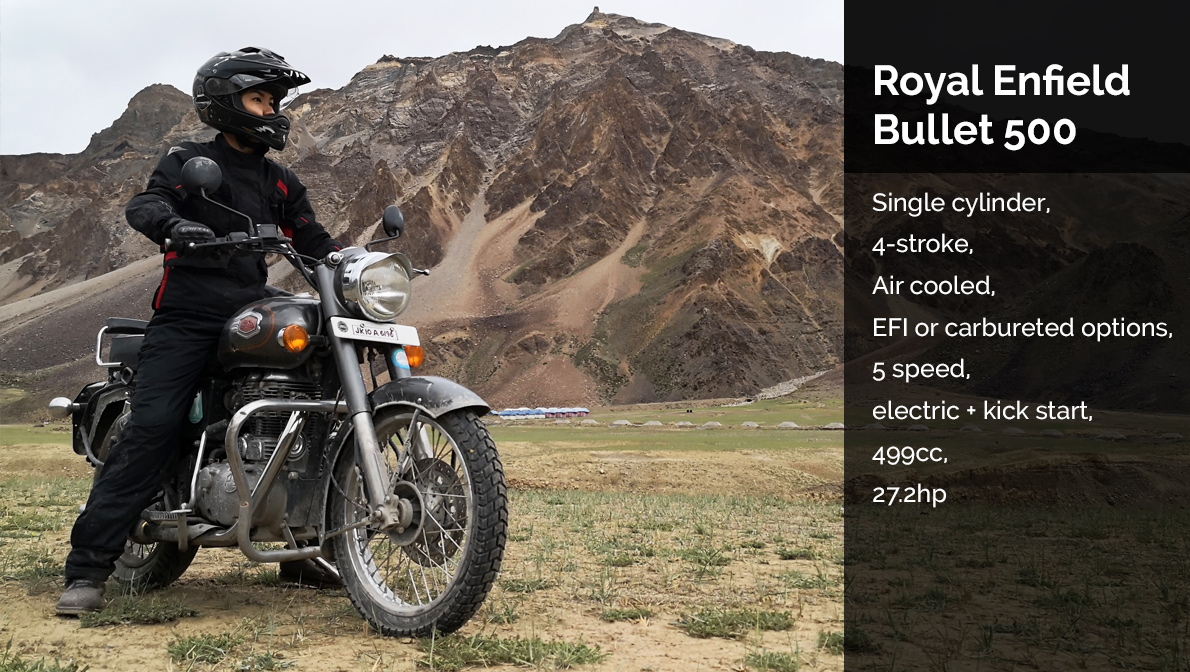 Ladakh Royal Enfield