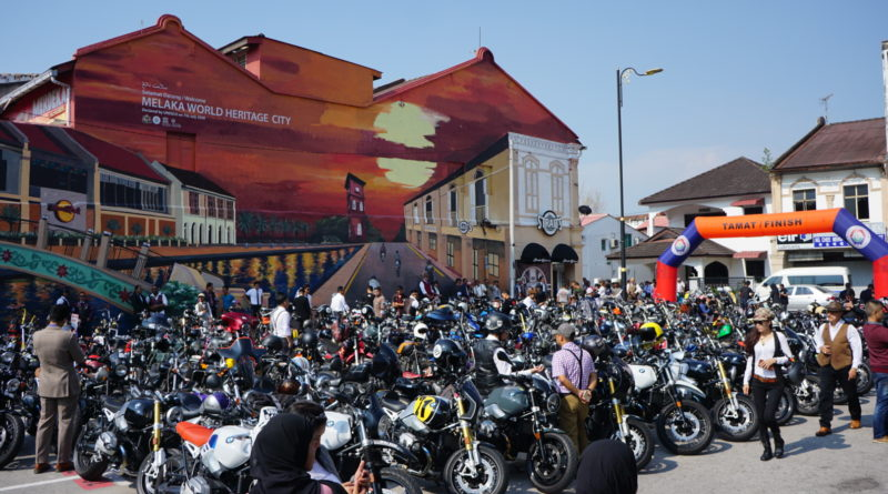 The Distinguished Gentleman's Ride with a difference