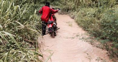 Drowned dirtbike XR250R